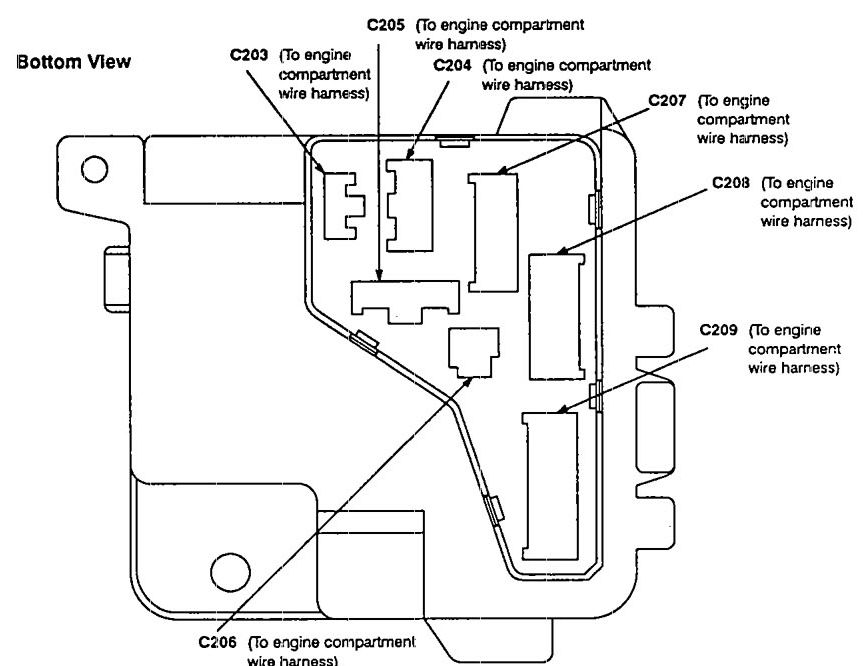 1992 Corvette Engine Compartment Diagram