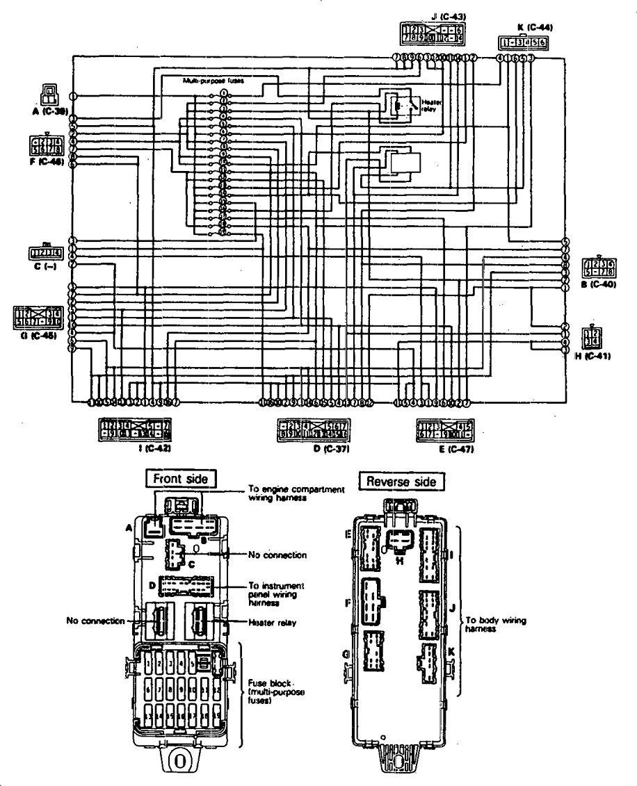 hight resolution of eagle talon 1990 fuse box diagram auto genius peugeot 307 fuse box layout 2003