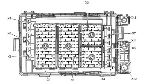 small resolution of isuzu ascender fuse box diagram engine compartment bottom view