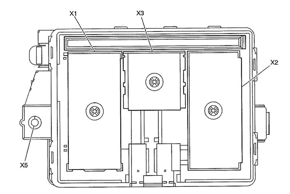 medium resolution of isuzu ascender fuse box diagram rear compartment bottom view