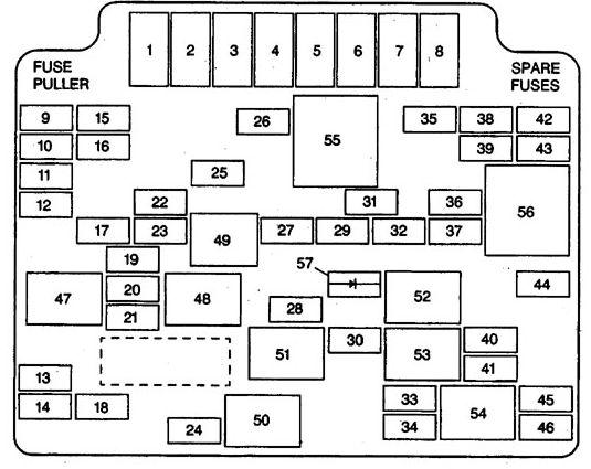 isuzu fuse diagram