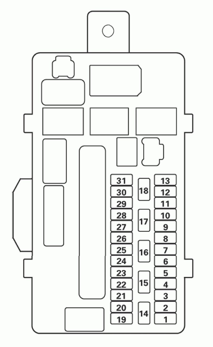 medium resolution of acura tl fuse box diagram driver s under dash fuse relay box