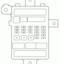acura tl fuse box diagram passenger s under dash fuse relay box [ 1231 x 1492 Pixel ]