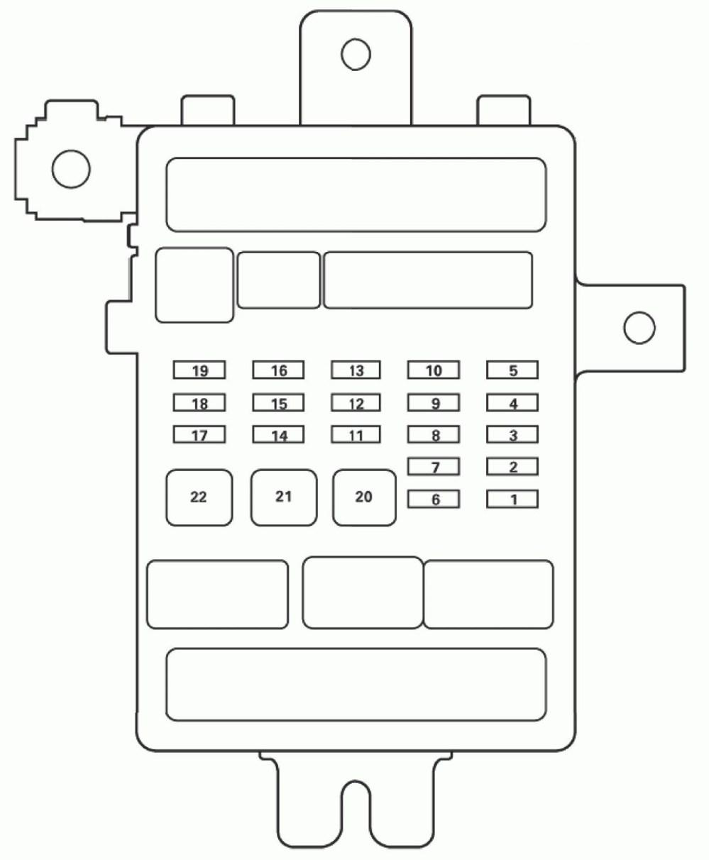 medium resolution of acura tl fuse box diagram passenger s under dash fuse relay box