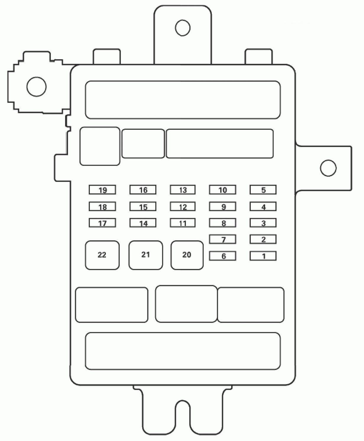 hight resolution of acura tl fuse box diagram passenger s under dash fuse relay box