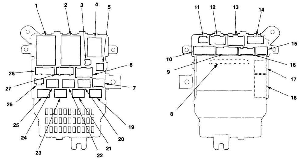 medium resolution of acura tl fuse box diagram under dash fuse box