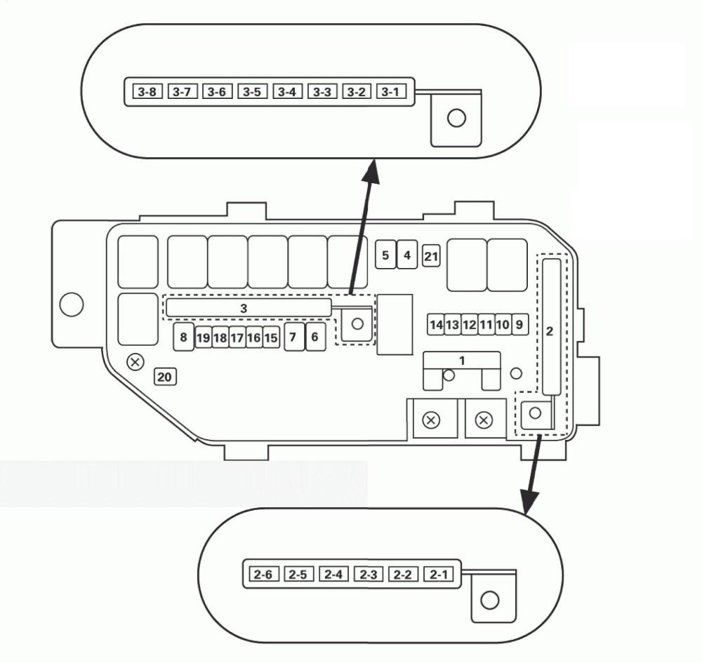 medium resolution of acura tl 2011 2012 fuse box diagram