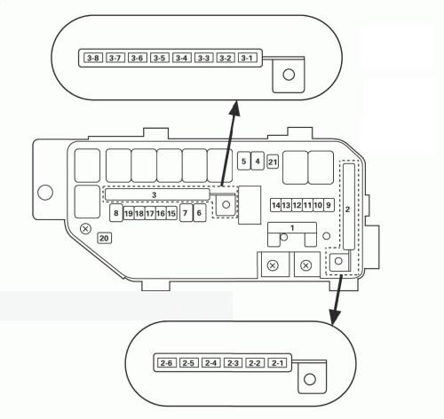small resolution of acura tl 2011 2012 fuse box diagram