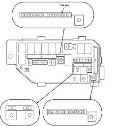 acura tl fuse box diagram under hood fuse relay box [ 1393 x 1537 Pixel ]