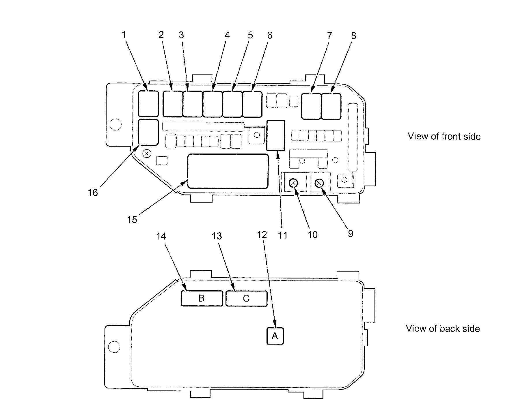 Diagram Of Freightliner Cascadia Fuse Box. 2012