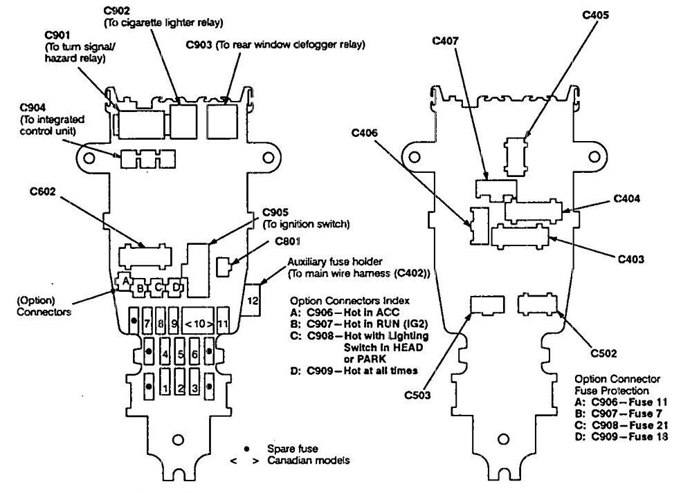 [DIAGRAM] Car Stereo Wiring Diagram 92 Acura Vigor FULL