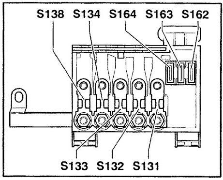 2003 Audi All Road Fuse Box Diagram