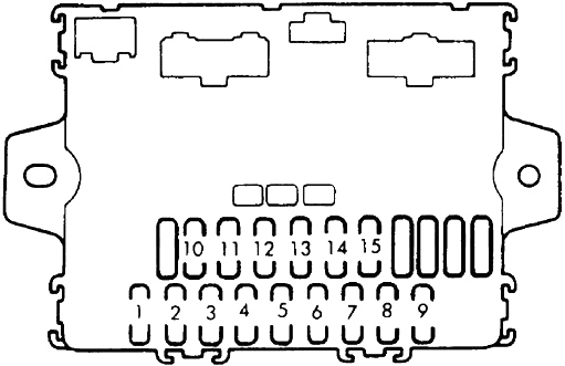 1985 Dodge Ramcharger Fuse Box Diagram 2000 dodge ram 1500