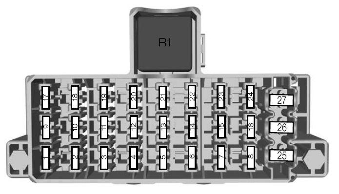 2010 ford taurus fuse box