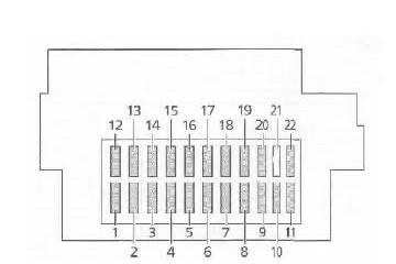 Ford Focus Mk Fuse Box Diagram Auto Genius