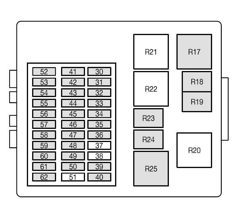 renault megane 56 plate fuse box