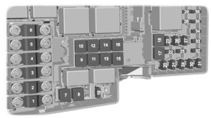 Ford Kuga (2008  2012)  fuse box diagram  Auto Genius