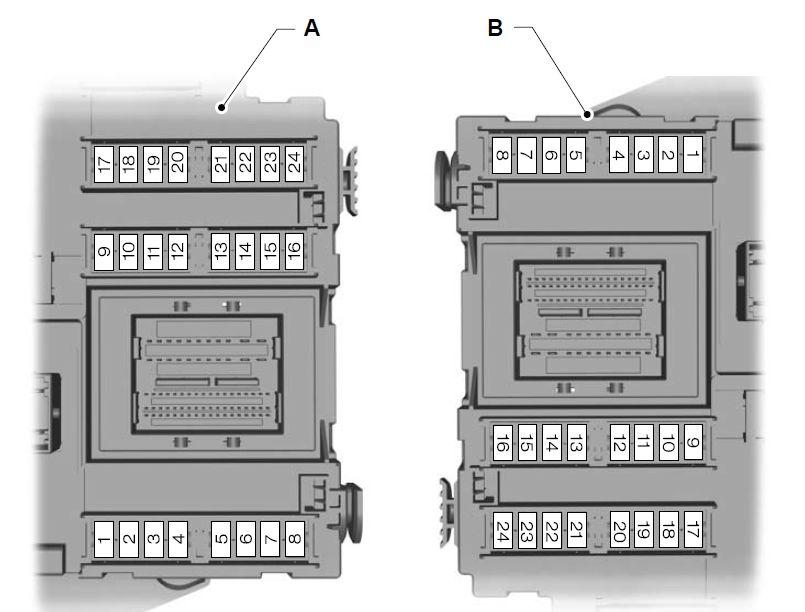 11 Ford Fusion Fuse Box Diagram Ford Mondeo 01 02 2007 19 08 2007 Fuse Box Diagram