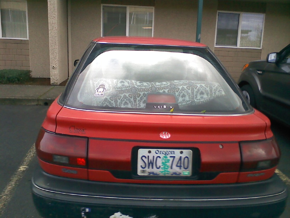 medium resolution of  1990 geo prizm 4 door hatchback back glass