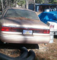 1996 mercury grand marquis 4 door sedan back glass  [ 962 x 1600 Pixel ]