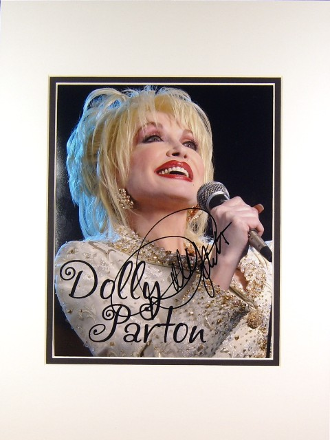 Dolly Parton Autograph Signed Photo