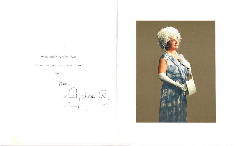 Queen Elizabeth The Queen Mother Autograph Signed