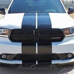 2011 2020 Dodge Durango Racing Stripes Rally Decals Full Bumper To Bumper Vinyl Graphic Decal Stripe Kit
