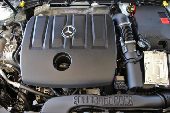 Το 1,5 λίτρο βγαίνει.  ντίζελ από τη Mercedes-Benz