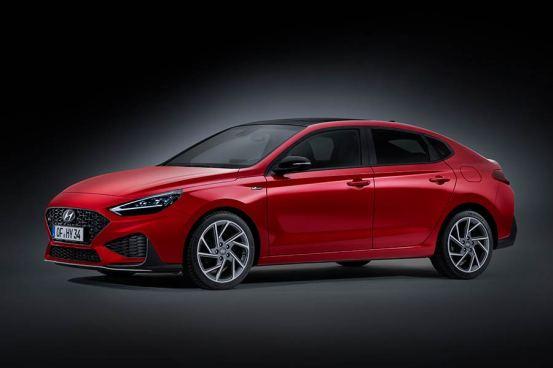 Μη αναπαραχθείσα τιμή Hyundai i30 Fastback 1,5T 160 PS