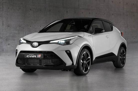 Το νέο Toyota C-HR GR Sport είναι γεμάτο σπορ στοιχεία