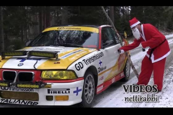 Ο Άγιος Βασίλης μοιράζεται με M3 400HP (+ βίντεο)