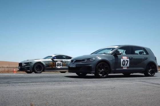 Το VW Golf GTI TCR αντιτίθεται στο Mustang 625HP (+ βίντεο)
