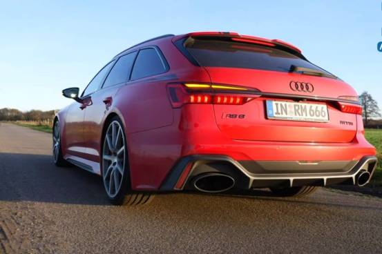 Audi RS 6 1.001HP και 1.250 Nm πυραύλων (+ βίντεο)