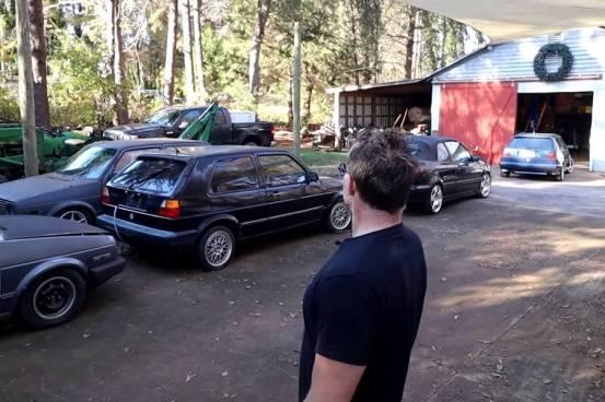 Ο άνθρωπος που δεν έχει βαρεθεί με το VW Golf (+ βίντεο)