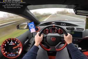 Πολυβόλο Honda Civic Type R 370 PS (+ βίντεο)