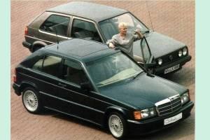 Το hatchback της Mercedes 190E που δεν είδαμε ποτέ