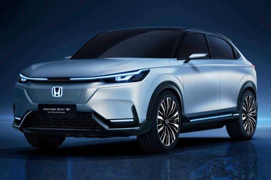 Το πρωτότυπο SUV E: δείχνει το ρεύμα της Honda