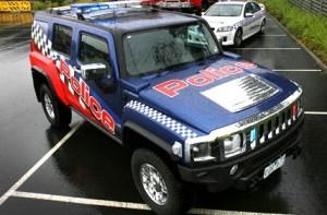 Hummer Politie