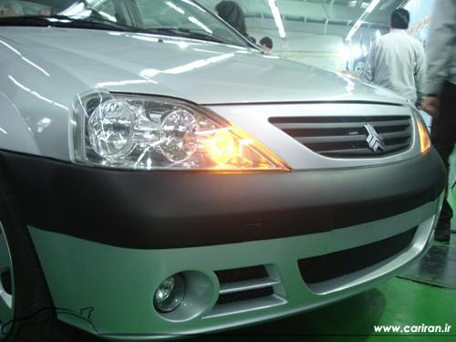 Versiunea iraniana a modelului Dacia Logan