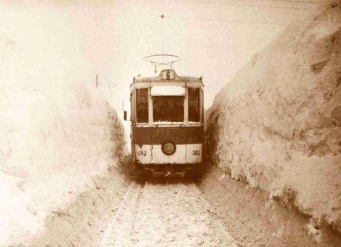 Iarna 1955 in Bucuresti
