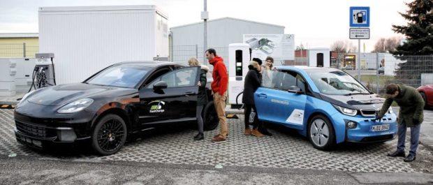Stație de reîncărcare de 450kW construită de BMW și Porsche