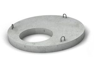 Плиты перекрытия колодца (крышки, горловины колодца)