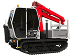 Terrain Master TC600 Tracked Carrier with Loader Crane