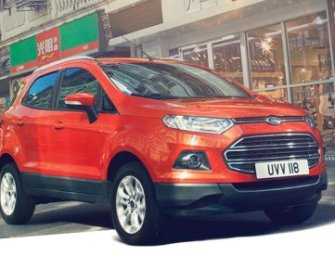 Ford EcoSport Launched, Starts At Rs. 5.59 Lakh