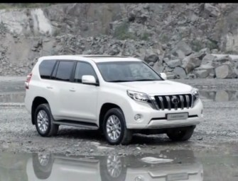 Toyota Launches 2014 Land cruiser Prado SUV