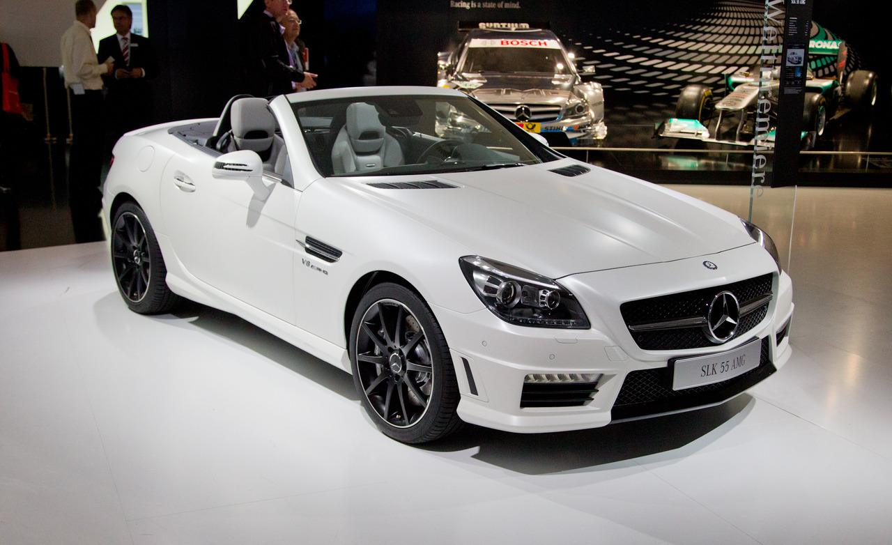 mercedes slk 55 amg to launch in india on 2nd december autogyaan. Black Bedroom Furniture Sets. Home Design Ideas