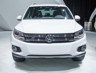 Volkswagen Tiguan India Launch At 2014 Auto Expo