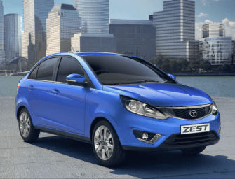 Tata Bolt and Zest Test Mules Being Used as a Marketing Gimmick