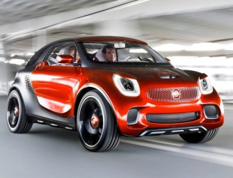 Smart ForFour Cabrio Electric Drive to Launch in 2016