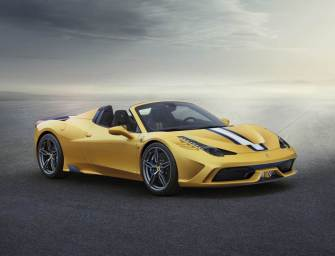 Ferrari Unveiles the Super Hot 458 Speciale A
